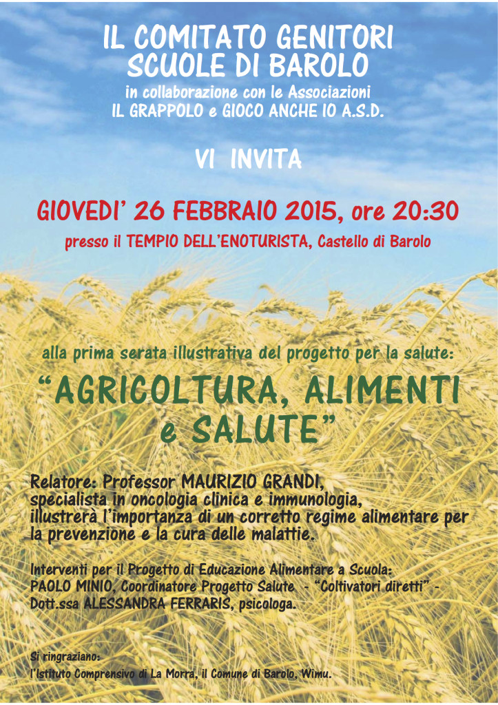 Salute e agricoltura